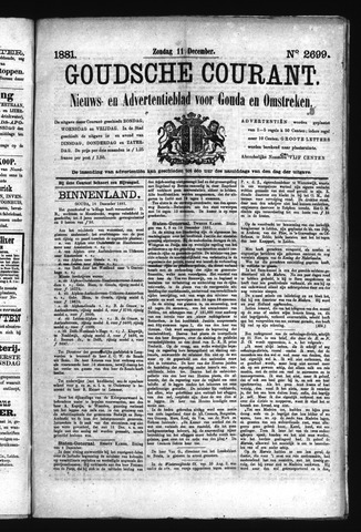 Goudsche Courant 1881-12-11