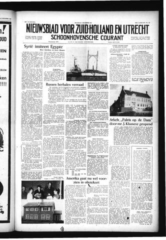 Schoonhovensche Courant 1956-12-03