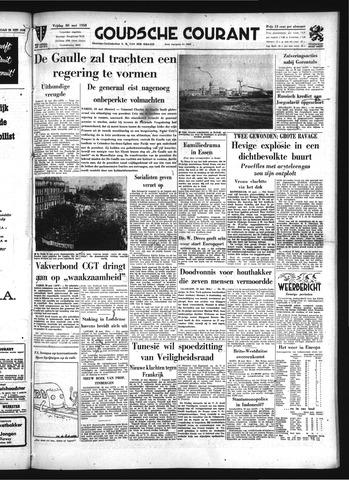 Goudsche Courant 1958-05-30