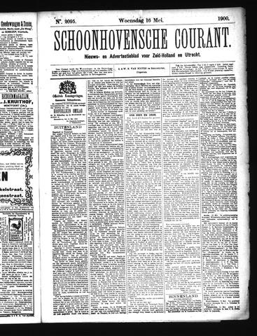Schoonhovensche Courant 1900-05-16