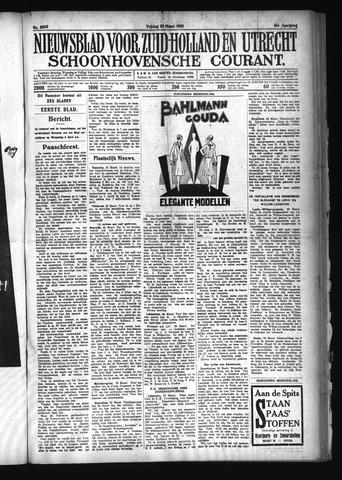 Schoonhovensche Courant 1929-03-29