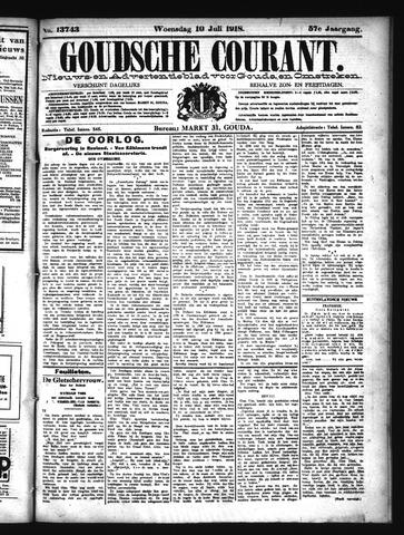 Goudsche Courant 1918-07-10