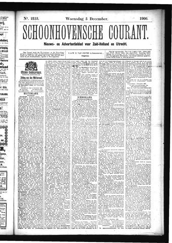 Schoonhovensche Courant 1900-12-05