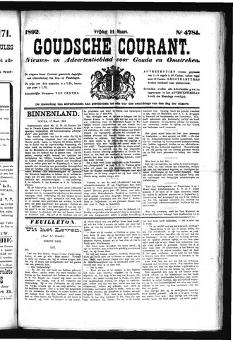 Goudsche Courant 1892-03-11