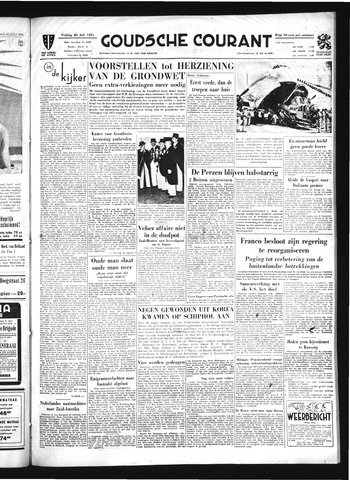 Goudsche Courant 1951-07-20