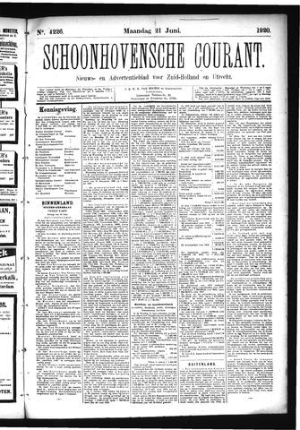 Schoonhovensche Courant 1920-06-21