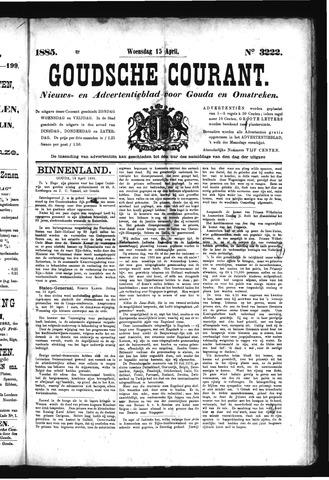 Goudsche Courant 1885-04-15