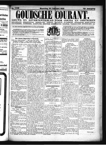 Goudsche Courant 1932-02-22