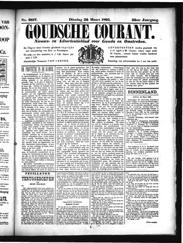 Goudsche Courant 1895-03-26