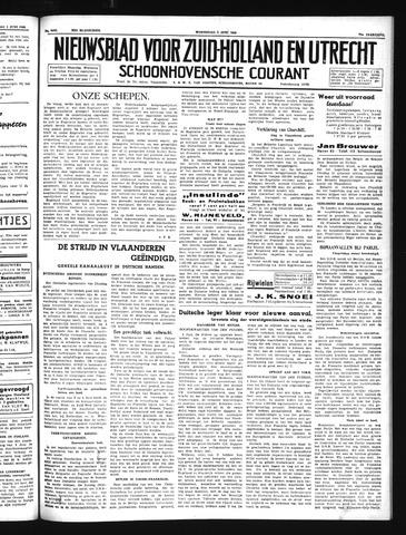 Schoonhovensche Courant 1940-06-05