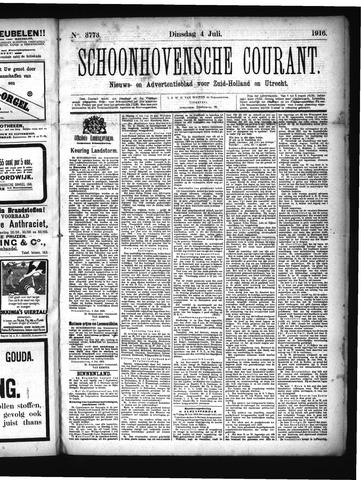 Schoonhovensche Courant 1916-07-04