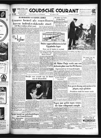 Goudsche Courant 1952-02-15