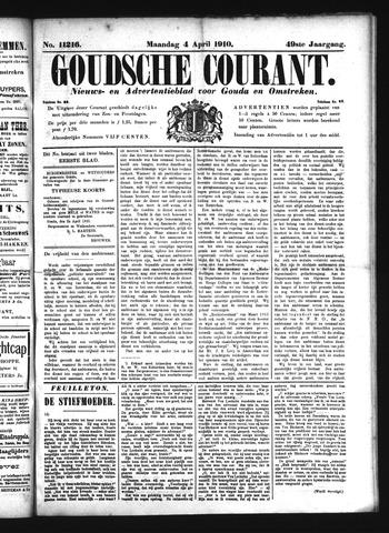 Goudsche Courant 1910-04-04