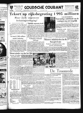 Goudsche Courant 1953-09-15