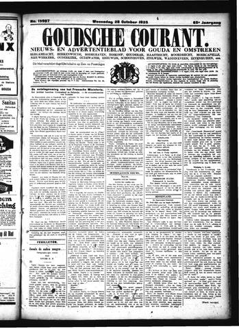Goudsche Courant 1925-10-28