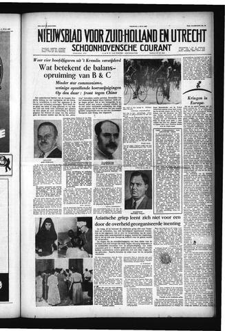 Schoonhovensche Courant 1957-07-05
