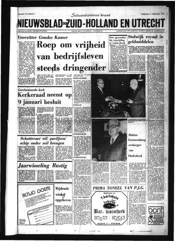 Schoonhovensche Courant 1975-01-03