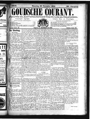 Goudsche Courant 1914-11-30