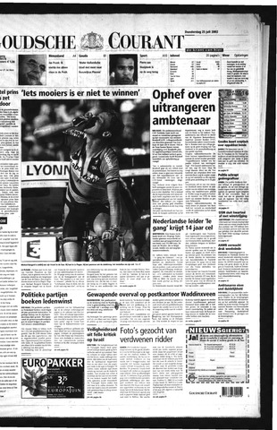 Goudsche Courant 2002-07-25