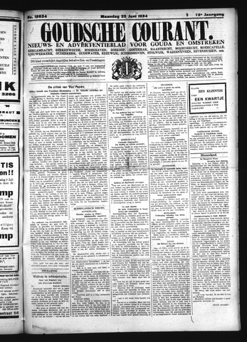 Goudsche Courant 1934-06-25