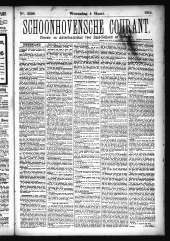 Schoonhovensche Courant 1914-03-04