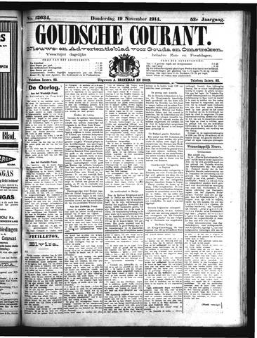 Goudsche Courant 1914-11-19