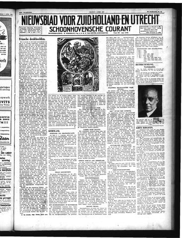 Schoonhovensche Courant 1947-04-04