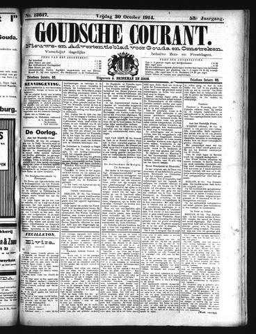 Goudsche Courant 1914-10-30