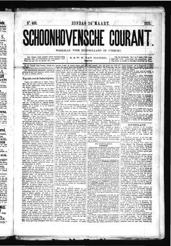 Schoonhovensche Courant 1878-03-24