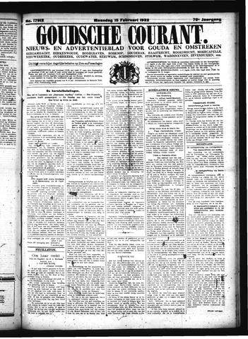Goudsche Courant 1932-02-15