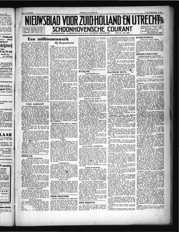 Schoonhovensche Courant 1947-01-08