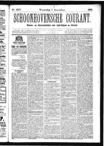 Schoonhovensche Courant 1906-11-07
