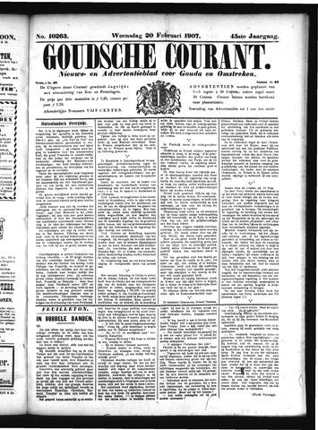 Goudsche Courant 1907-02-20
