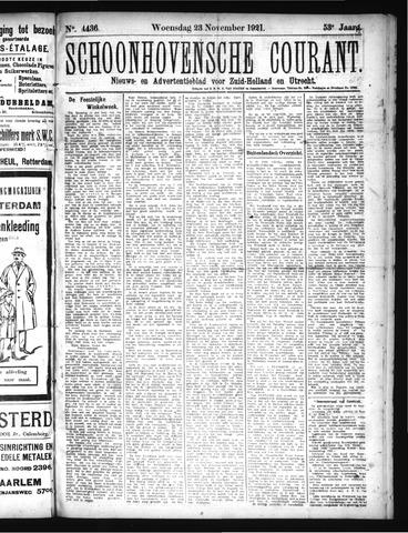 Schoonhovensche Courant 1921-11-23