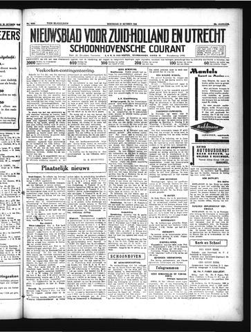 Schoonhovensche Courant 1934-10-31