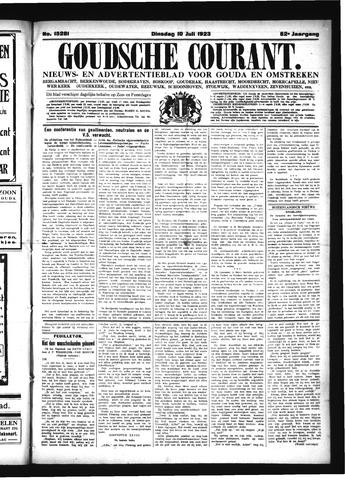 Goudsche Courant 1923-07-10