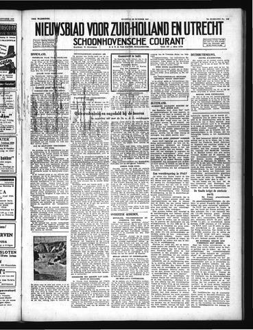 Schoonhovensche Courant 1947-10-20