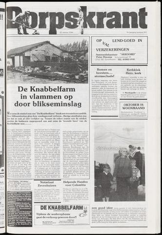 Dorpskrant 1986-10-22