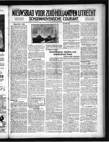 Schoonhovensche Courant 1950-07-03