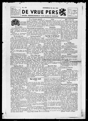 De Vrije Pers 1945-07-26