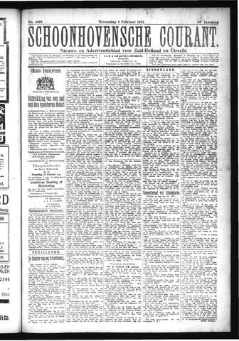 Schoonhovensche Courant 1922-02-08