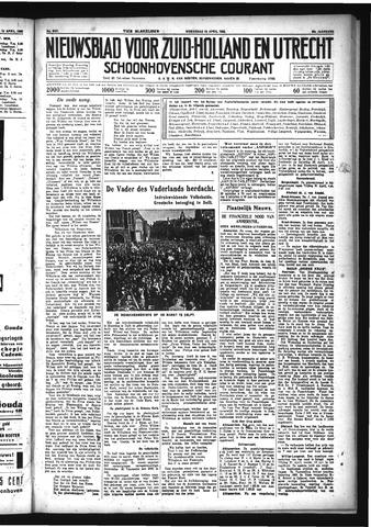 Schoonhovensche Courant 1933-04-19