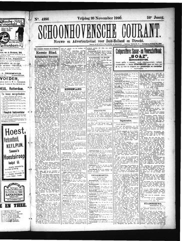 Schoonhovensche Courant 1920-11-26