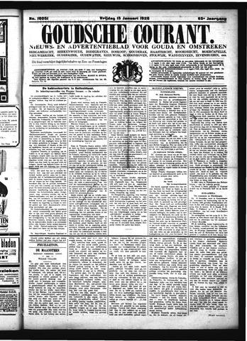 Goudsche Courant 1926-01-15