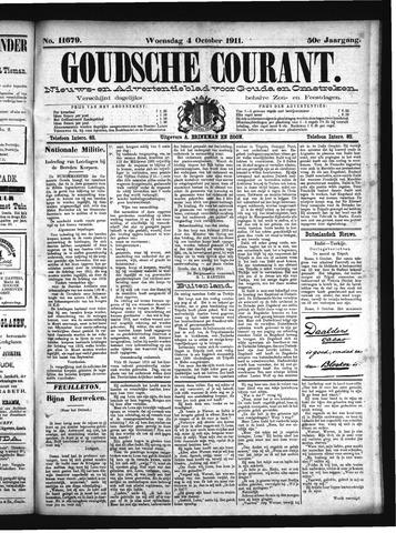 Goudsche Courant 1911-10-04
