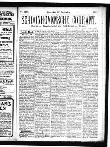 Schoonhovensche Courant 1912-08-31