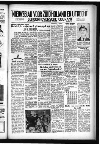 Schoonhovensche Courant 1953-04-22