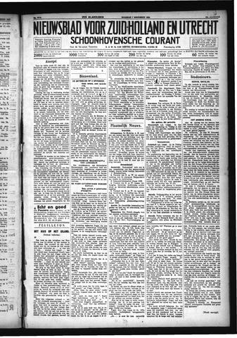 Schoonhovensche Courant 1932-11-07