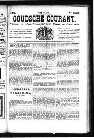 Goudsche Courant 1892-04-29