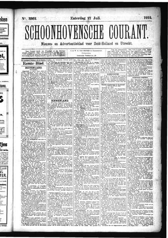 Schoonhovensche Courant 1912-07-27